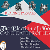 The Election of 1860 Candidate Profiles: Background Reading