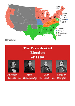 The Election of 1860 Word Search