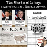Electoral College Activity, PowerPoint, and Notes Sheet - Fun Competition!