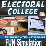 The Electoral College   Simulation Activity   Civics   Pri