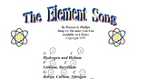The Element Song (Periodic Table) - Sing Along Science