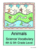 Animals: The Elementary Science Shop - 4th & 5th Grade