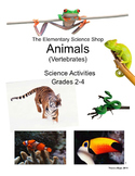 Animals - The Elementary Science Shop: Grades 2-4