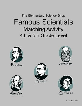 Scientist and Inventors (The Elementary Science Shop) - Grades 4 and 5