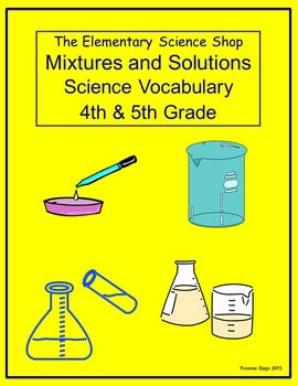 Mixtures and Solutions (The Elementary Science) Grades 4-5