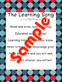 Songs for Reading, Writing, Learning and Telling Time!