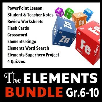 Elements - LESSON BUNDLE {Editable}