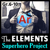 Elements SUPERHERO Project {Editable}