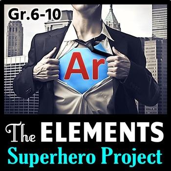 Elements SUPERHERO Project {Editable}