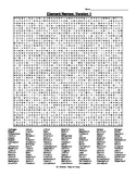 The Elements Word Search (6 Versions!) with Answer Key