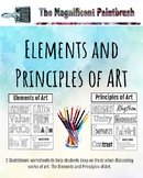 The Elements and Principles of Art Worksheets