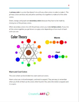 The Elements of Art- Color