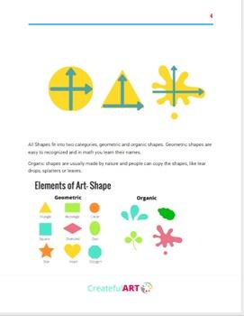 The Elements of Art- Shape