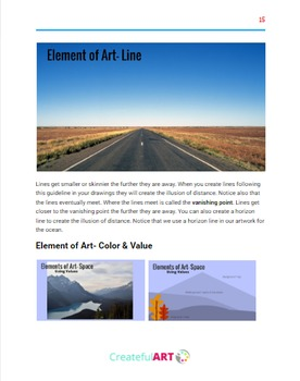 The Elements of Art- Space
