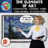 The Elements of Art Unit Grades 3-8