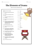 The Elements of Drama Worksheets