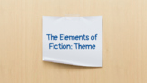 The Elements of Fiction: Theme
