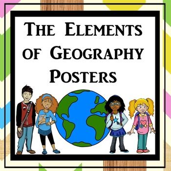 The Elements of Geography Posters