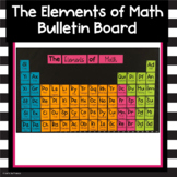 Back to School Math Bulletin Board