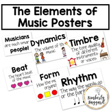 The Elements of Music Posters