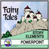 Story Elements of a Fairy Tale PowerPoint and Reading Acti