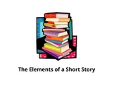 The Elements of a Short Story Prezi with Graphic Organizers & Handout