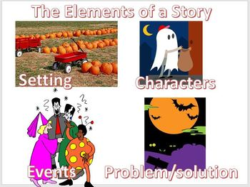 The Elements of a Story  Language Arts K-2