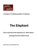 The Elephant arranged for Trombone Trio