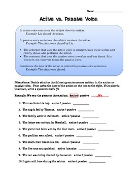 """""""The Elephant"""" by Slawomir Mrozek: Active and Passive Voice and Story Questions"""