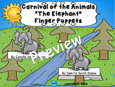 Elephant, The from Carnival of the Animals (Finger Puppets)