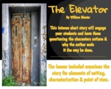 Short Story Analysis The Elevator  by William Sleator