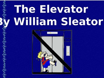 The Elevator by William Sleator - Printable Worksheets