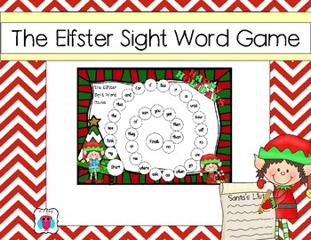 The Elfster Sight Word Game