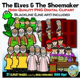 The Elves and The Shoemaker Clip Art for Personal and Comm