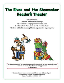 The Elves and the Shoemaker Reader's Theater (with mp3 files)