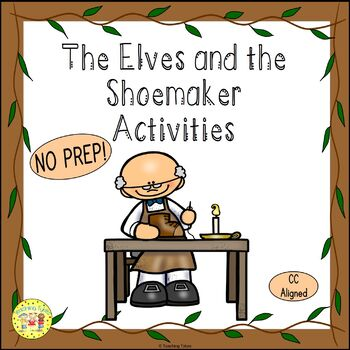The Elves and the Shoemaker Fairy Tales Worksheets Activit