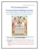 The Emancipation Proclamation- Webquest and Video Analysis