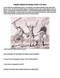 The Embargo Act: Foreign Relations - Thomas Jefferson Political Cartoon DBQ