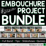 1The Embouchure Project Beginning Band BUNDLE