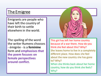 The Emigree - Power and Conflict