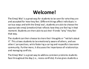 The Emoji Wall: Use Emojis To Teach Students Everything About Emotions