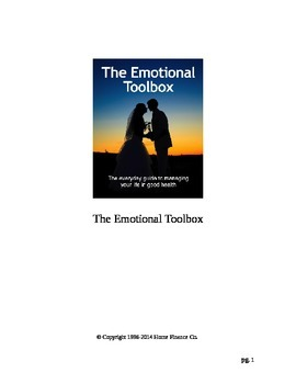The Emotional Toolbox - How to resolve your upsets