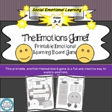 The Emotions Game- Print Emotional Learning Game, SEL, Boa