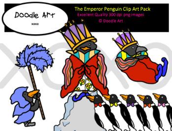 The Emperor Penguin Clip Art Pack