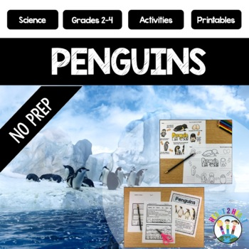 Waddle This Way: All About Penguins Non-Fiction Activity Pack