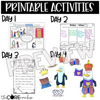 The Emperor's Cool Clothes: Interactive Read-Aloud Lesson Plans and Activities
