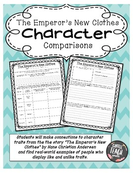 The Emperor's New Clothes Character Comparisons