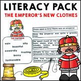 The Emperor's New Clothes Literacy Activities Fairy Tale