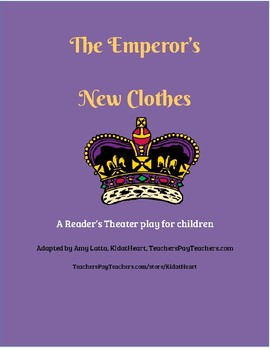 The Emperor's New Clothes Reader's Theater script
