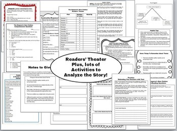 The Emperor's New Clothes Readers' Theater and Common Core Activities